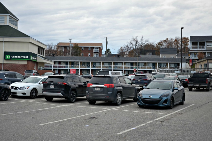 Miramichi city council voted unanimously Nov. 13 to transfer the parking lot along Waterfront Drive, Norton's Lane, and Ledden Street near the TD Bank office building and 99.3 FM The River studio to Moncton-based Vestis Properties, Limited, pending the company's purchase of the TD Bank building.