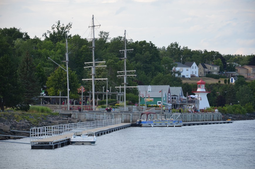 Ritchie Wharf Park, shown in 2018, has been among several hubs of activity in Miramichi throughout the city's first quarter century since amalgamation, columnist Steve Heckbert writes.