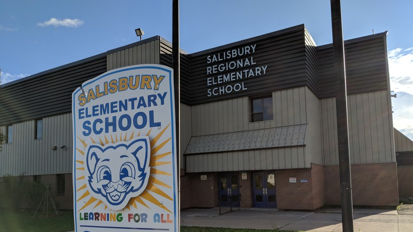 Salisbury Elementary School is home to roughly 350 students and is ninth on the province's major capital project request list.