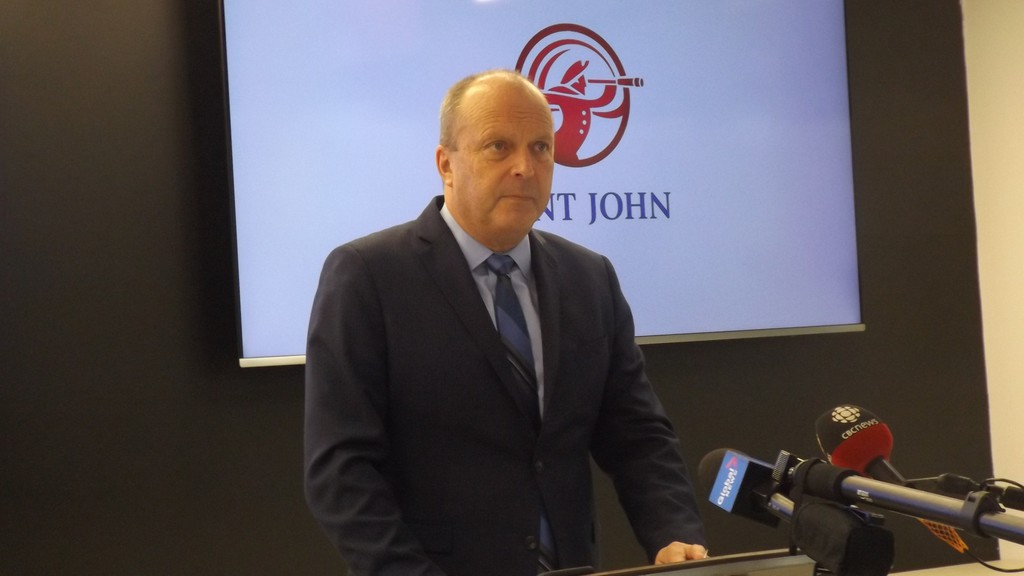 City Manager John Collin has suggested that Saint John is well-situated financially for the year ahead.