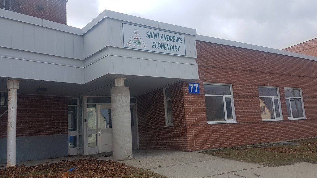 Fredericton-based Sunfield Apartment Rentals purchased the former Saint Andrew's Elementary on Chatham Avenue with plans to convert it into rental units.