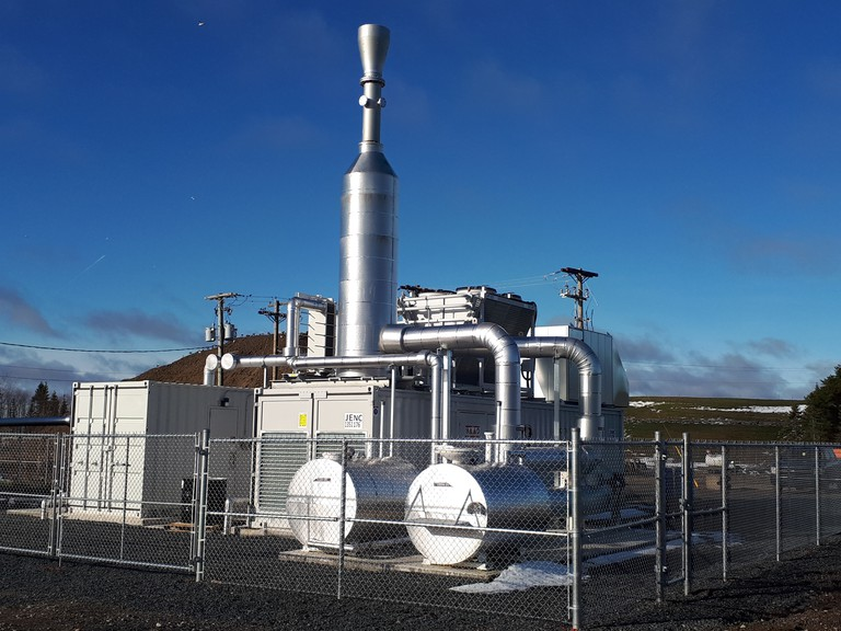 Mechanical problems with the biogas generator at the Red Pine Sanetary Landfill. The issues mean the output of electricity is less than anticipated.