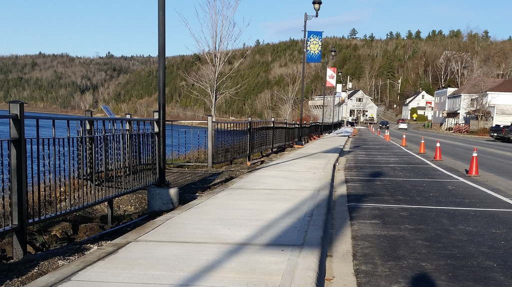 The boardwalk refurbishment in Perth-Andover is complete for the season with the sidewalk installed and scenic viewing points now finished, council learned at its Nov. 16 meeting.