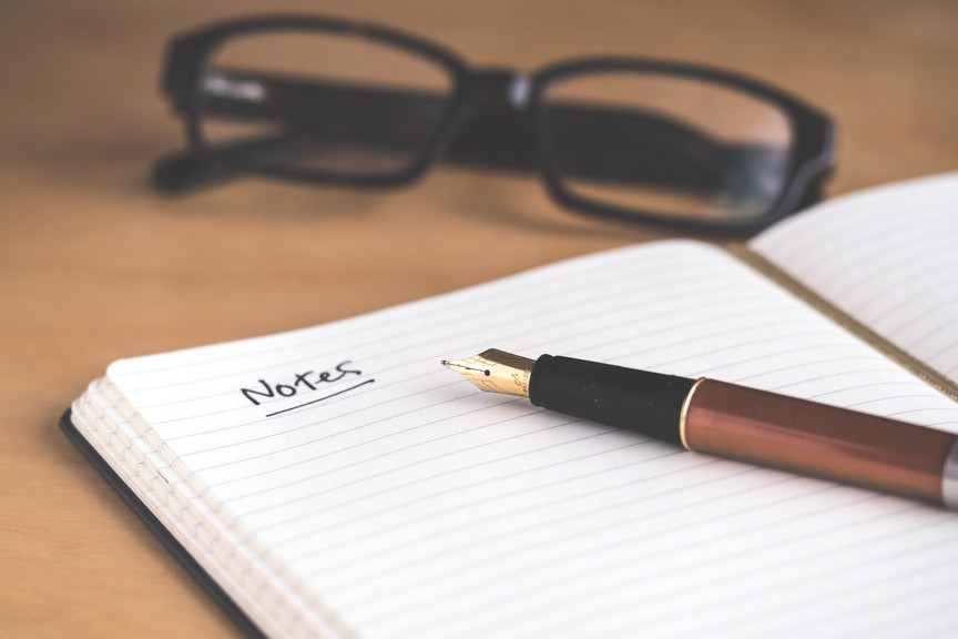 In his latest column, Harold Taylor writes taking notes by hand can be a big help for concentration and memory throughout the day.