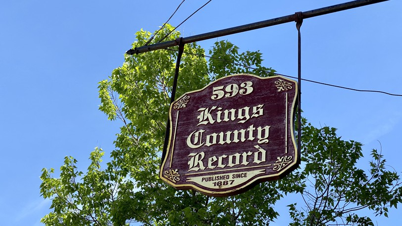 This week, David Henderson takes a look at the Kings County Record's historical coverage of the month of September, which in day's past included visits from esteemed generals, fires, and more.
