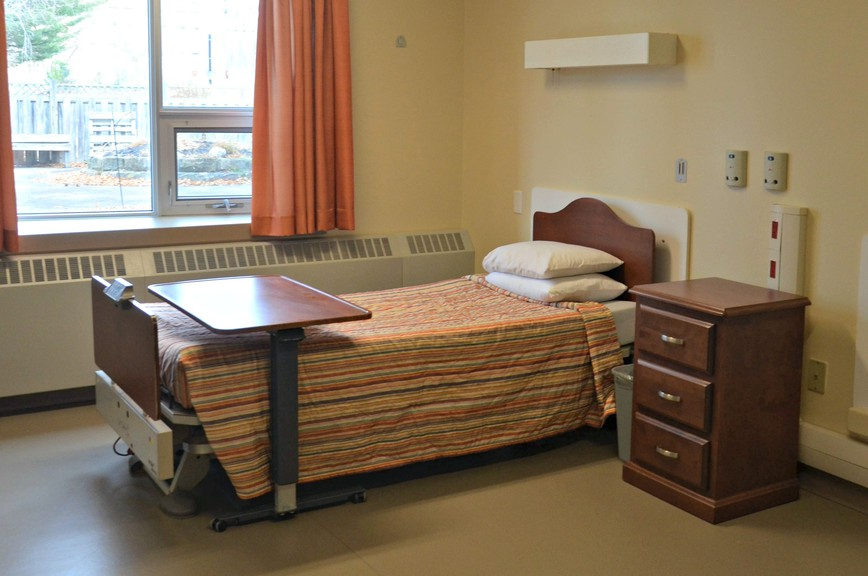 One of the private rooms in Mount St. Joseph's new memory care unit. The Lobban Avenue facility now has 16 memory care beds for people living with Alzheimer's disease and dementia.