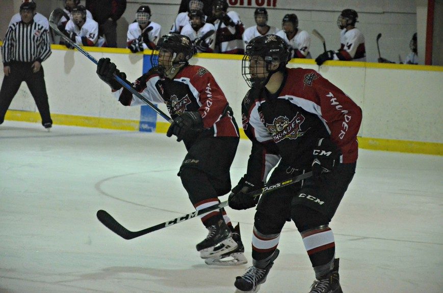 The Sunny Corner Thunder are hoping to be competitive in the 2020-21 New Brunswick Junior Hockey League season, says head coach Brad Tozer. They've dropped their first two games of the season, following a 5-2 loss on Sunday to the Western Valley Panthers.