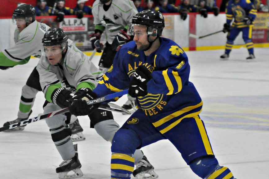 Dalhousie Marauders forward Robert Pelletier and his mates will have their training camp in early December in preparation for their season opener in the Acadie Chaleur Senior Hockey League in early January.