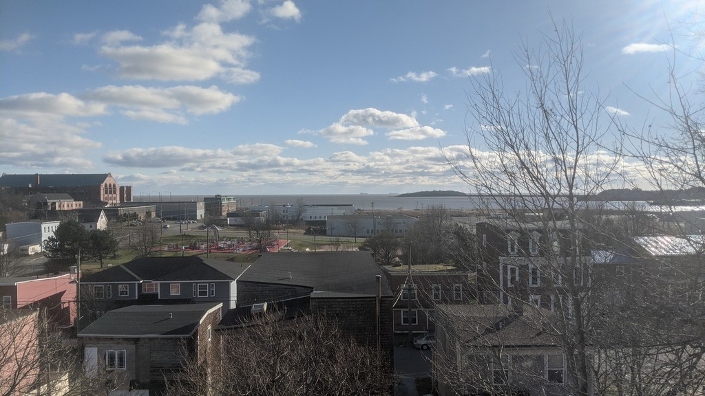 View of uptown Saint John in the afternoon.