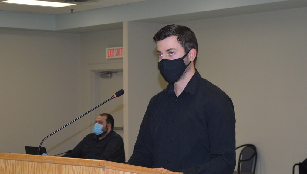 Jean-Pierre Fournierof Roy Consultants,made a presentation about upcoming infrastructure projects at Red Pine Solid Waste Management Facility at its regular monthly meeting held in the Paul Ouellette Room of the K.C. Irving Regional Centre Nov. 18.