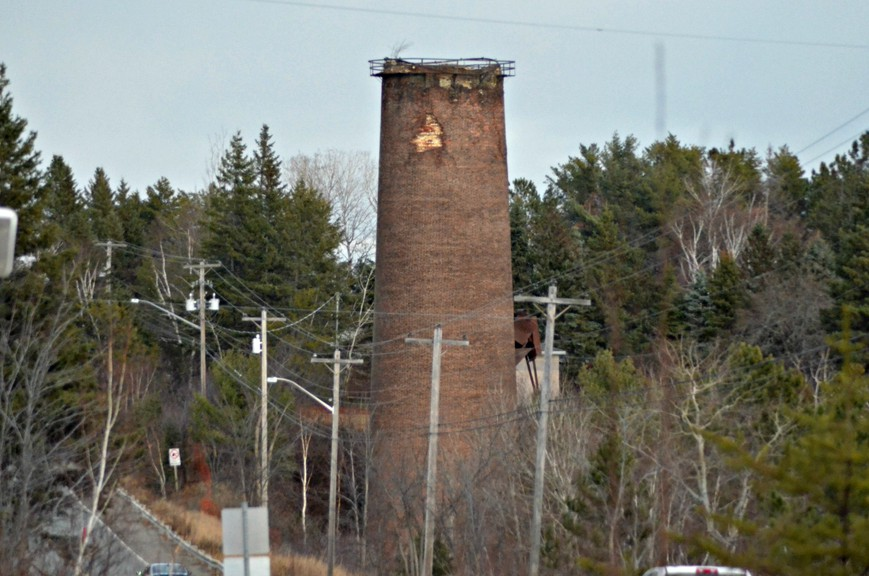 The provincial Department of Transportation and Infrastructure is seeking bids to demolish the large circular smokestack along King George Highway in Miramichi. The structure, known locally as the Buckley burner, was built in 1917 and is being torn down due to safety concerns.