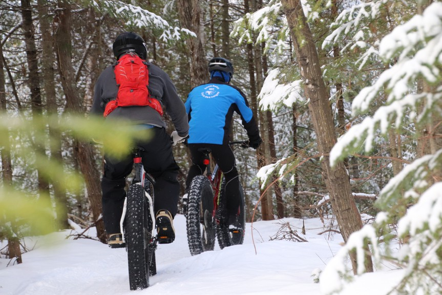 The City of Bathurst in partnership with the Mountain & Fat BikeChaleur club will start charging user fees for the groomed fat bike and snowshoeing trails this winter.