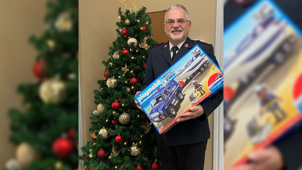Wayne Durdle, community ministries director for The Salvation Army Miramichi, said the organization has received more calls for help this year, promoting them to take their toy drive out of the office and into the city on Nov. 28.
