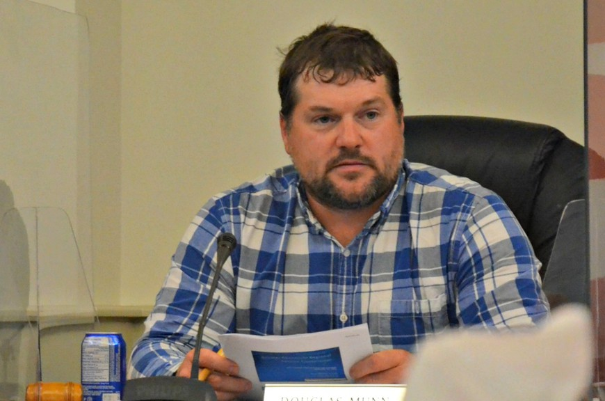 Upper Miramichi Mayor Doug Munn, who chairs the Greater Miramichi Regional Service Commission board of directors, says the commission should consider setting minimum balances for its operating and capital reserve accounts.
