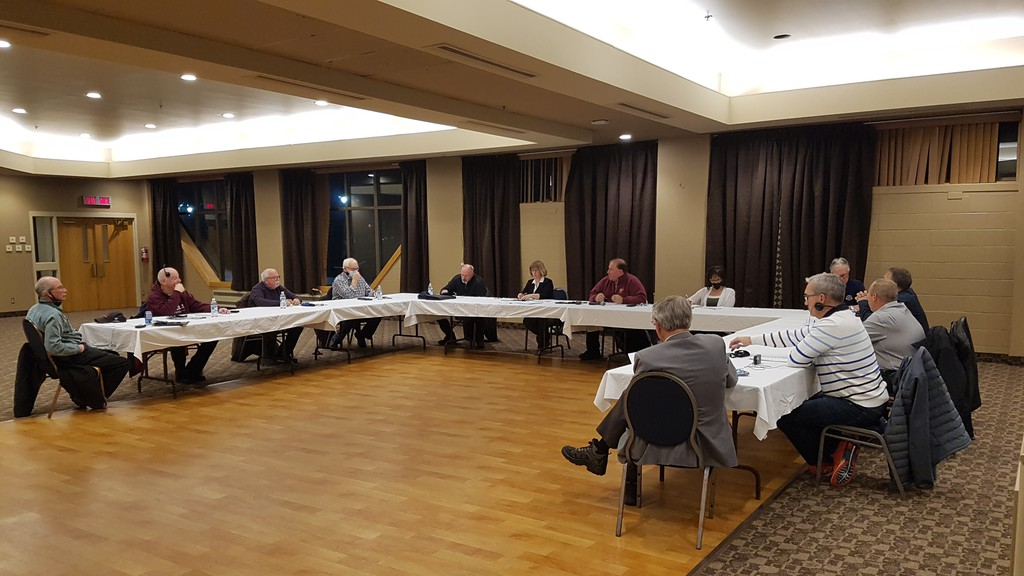 The Restigouche Regional Service Commission met on Nov. 26 at the Campbellton Regional Memorial Civic Centre. Chair Brad Mann told members that it was known the rules for the orange phase would be relaxed this time around, and people from the area should not be upset that this was the case with the orange phase in southern New Brunswick.