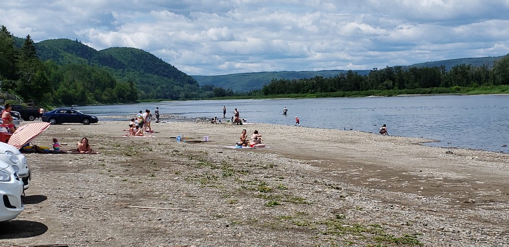 Tide Head Beach at the mouth of Christopher Brook. Tide Head will not join the rest of the Restigouche Regional Service Commission in a regional tourism initiative this year, although Mayor Randy Hunter said participation is possible in the future.