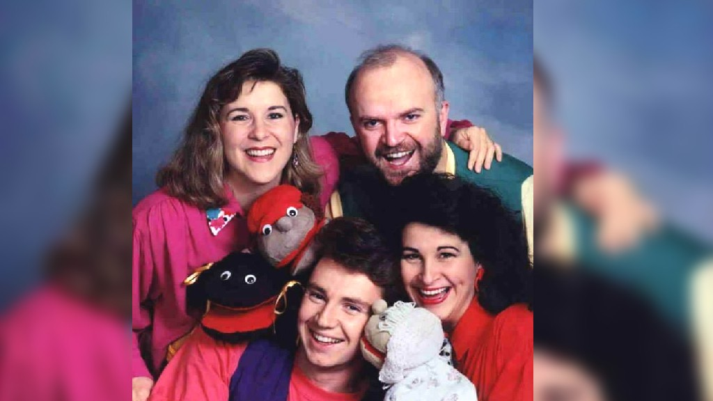 The Kids at Heart group, shown here in the early 1990s, is reuniting for KV Players' upcoming virtual Christmas show.