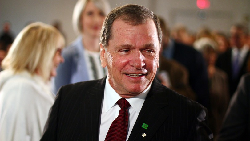 Former New Brunswick Frank McKenna and TD Bank have donated $25,000 toward the purchase and refurbishment of what's believed to be the world's oldest basketball court in St. Stephen.