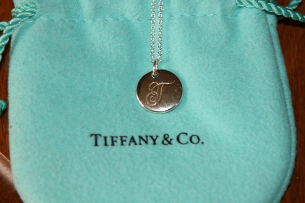 New Box Tiffany Amp Co Notes Quot T Quot Alphabet Disc Charm Pendant
