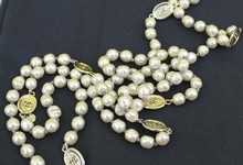 Vintage Chanel Baroque Pearl Necklace