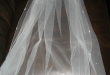 Richard Designs Wedding Veil - Ivory