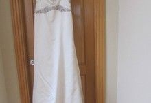 Designer's Original Reem Acra New York Beautiful Wedding Gown