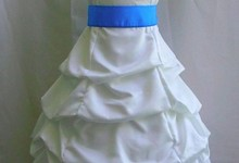 New Ivory Cornflower Flower Girl Davids Wedding Dress