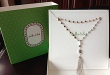 New In Box Stella & Dot Gitane Tassel Necklace - Silver