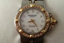Ladies Diamond Raymond Weil Parsifal Watch