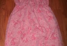 Pretty Pink Motherhood Maternity Floral Easter Spring Summer Dress