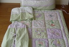 7 Piece Lambs Ivy Baby Crib Bedding