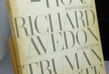 Observations Richard Avedon Truman Capote Art Photography Celebrities 1st 1959