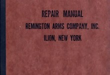 Vintage Repair Manual By Remington Arms Co Ilion New York