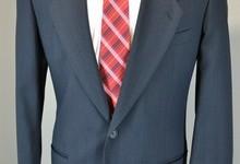 Giorgio Armani 100% Pure Wool 2 Piece Suit