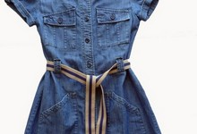 Zara Kids Denim Junior Dress