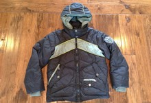 Diesel Kids Boys Down Puffer Jacket