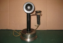 Candlestick Telephone With Push-button Switches