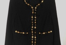 St. John Beaded Top Coat Jacket