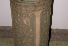 Antique American Art Pottery Umbrella Stand-weller