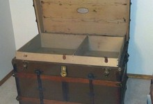 Antique Trunk From Late 1800s