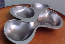 Alessi Ron Arad 4-part Babyboop Hors D'oeuvre Bowl