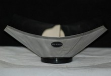 Vintage Alessi Stainless Modern Design Fruit Bowl Coppola Italy