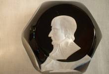 Baccarat 1974 Paperweight With Napoleon