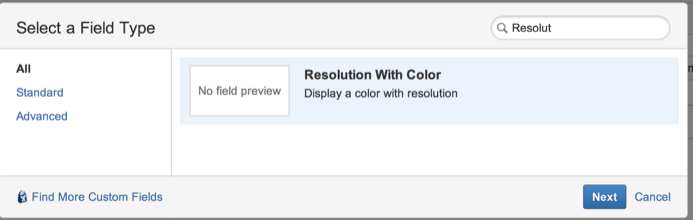 Resolution Colors