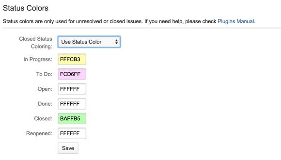 Plugin Settings:StatusColors