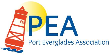 Port Everglades Association (PEA) Logo