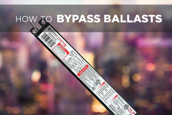 How to bypass a ballast