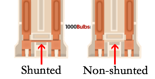 Shunted Vs Non Shunted Lampholders With T8s 1000bulbs Com