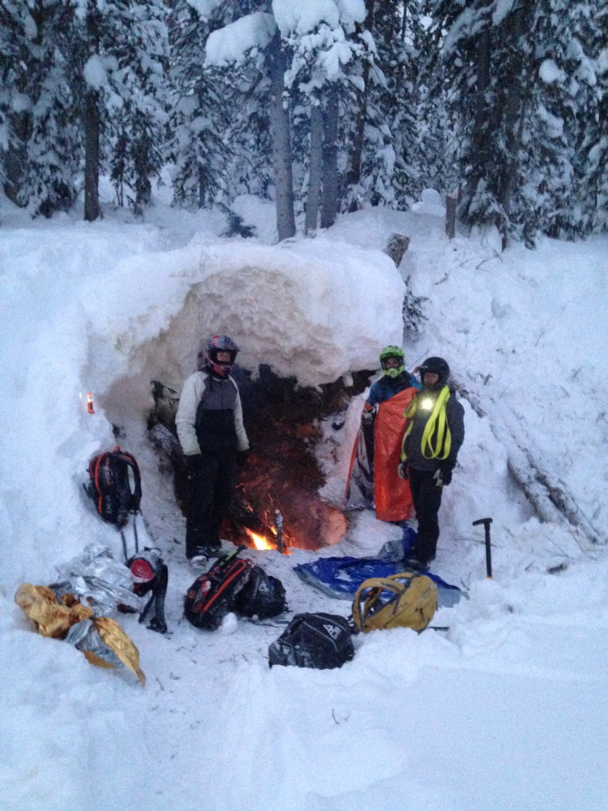 Snowmobilers Extracted from Avalanche Exposure