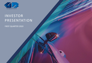 1Q 2020 GB Auto Investor Presentation